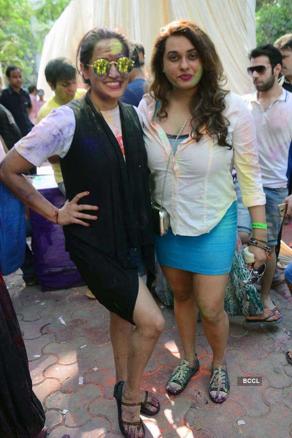 Esha Deol's Holi party