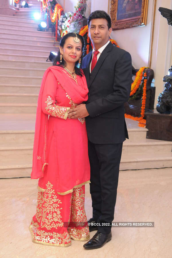 Nikita and Ankit's sangeet ceremony