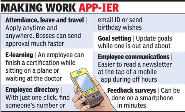 Want to apply for leave? There's an app for that - Latest