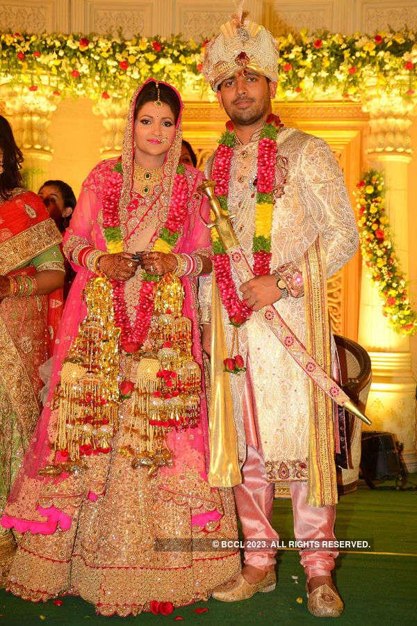 Nikita & Ankit's wedding ceremony