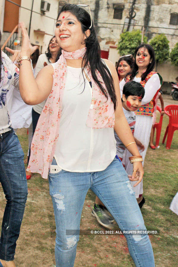 Holi party in Banaras