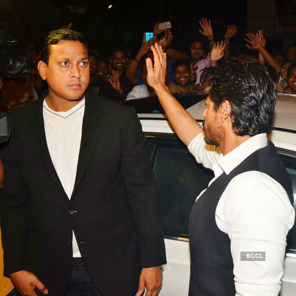 Celebs @ SLB's party
