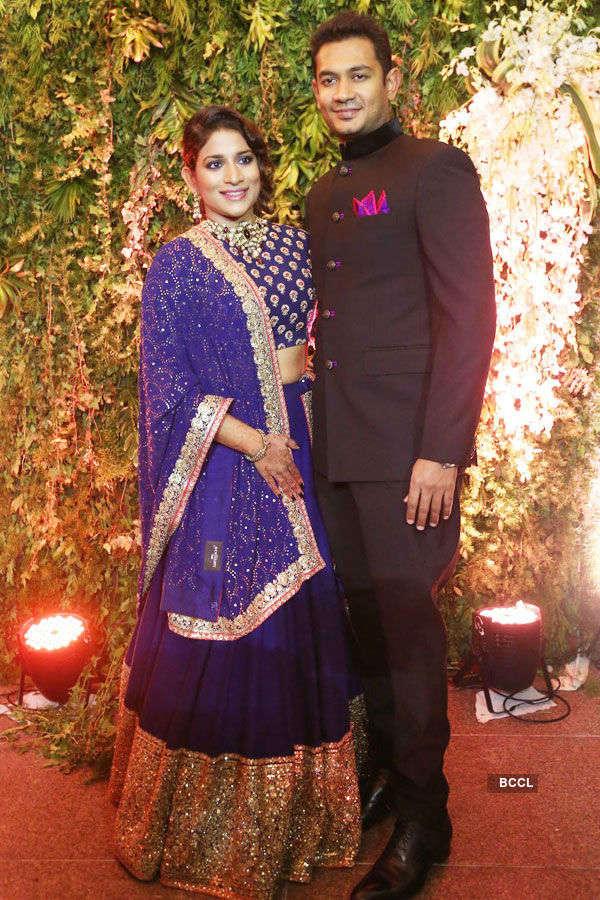 Sreeja & Kalyan's wedding reception