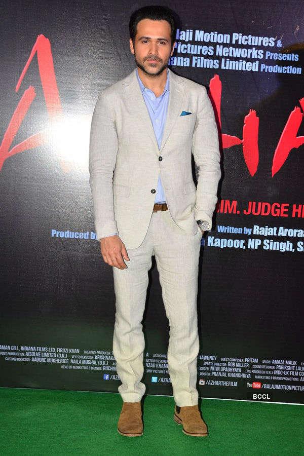 Azhar: Trailer launch