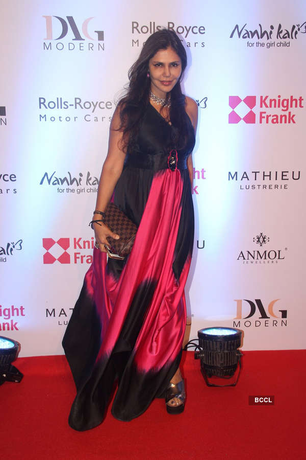 Celebs at Knight Frank event