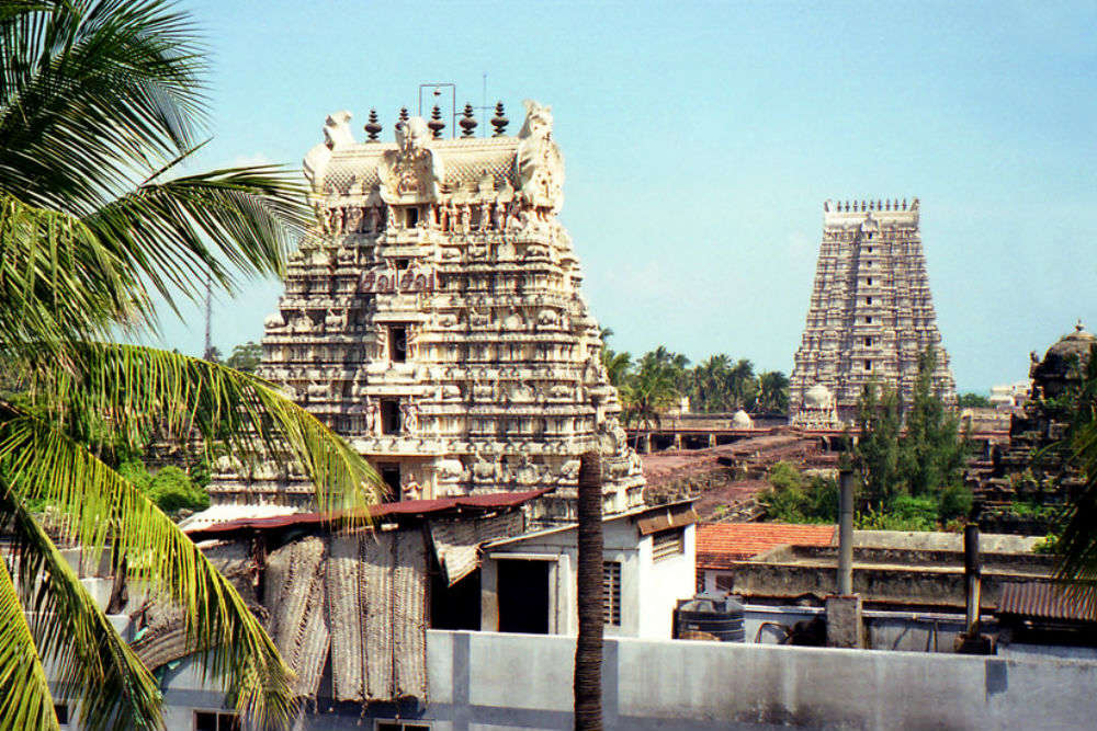 Ramanathaswamy Temple tower, Rameswaram - Times of India Travel