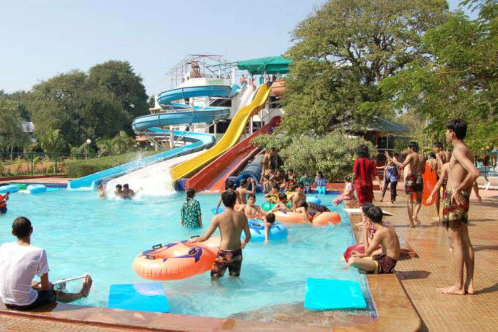 Mirasol and Vaibhav waterpark