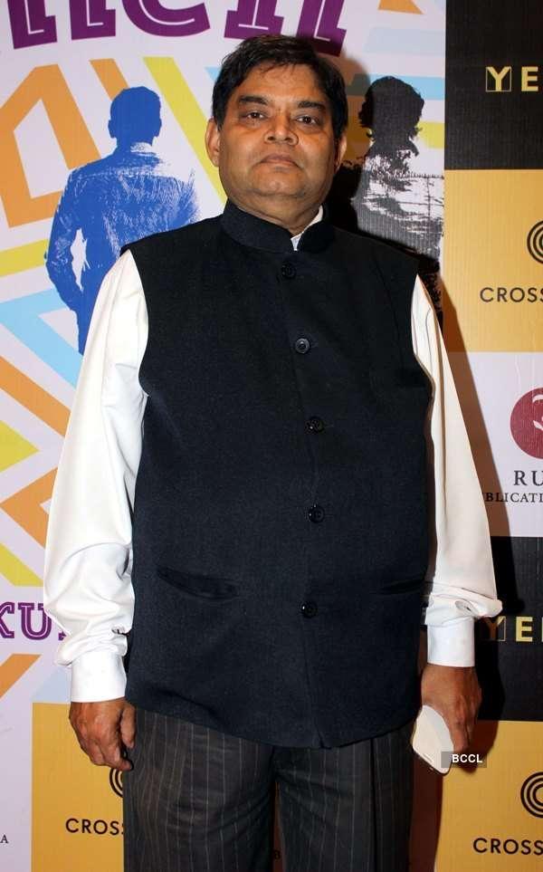 Sharman Joshi launches a book