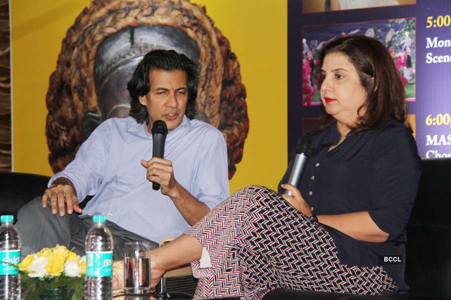 Farah Khan @ Master Class Workshop