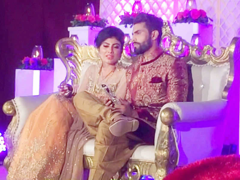 Ravindra Jadeja weds Riva Solanki