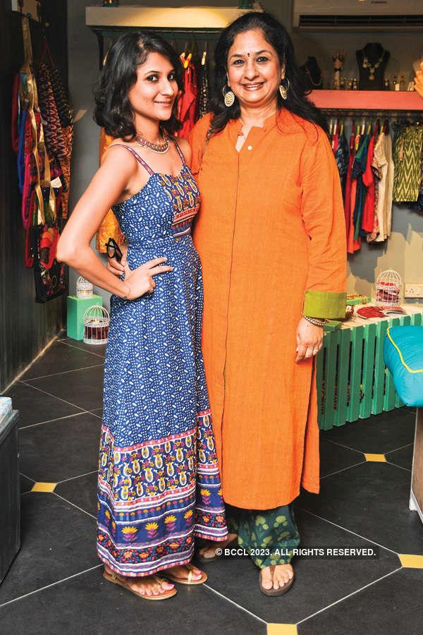 Socialites at boutique launch