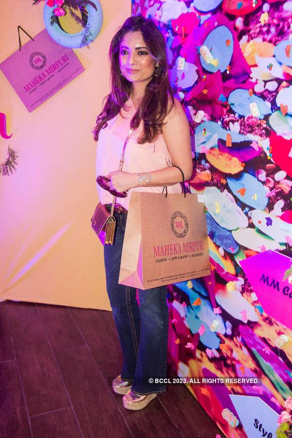 Maheka Mirpuri's collection launch