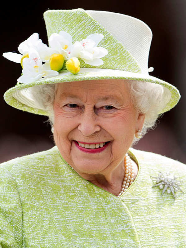 Queen Elizabeth II celebrates her b'day
