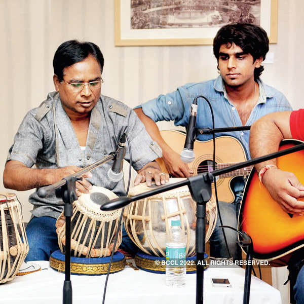 Jamming session in the city