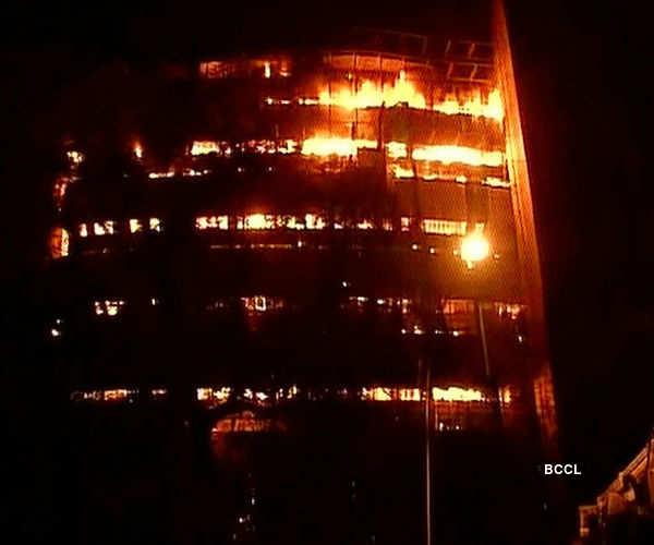 Massive fire at Delhi's National Museum