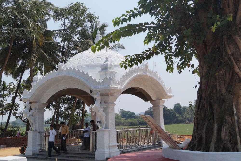 Original site of Shantadurga Temple