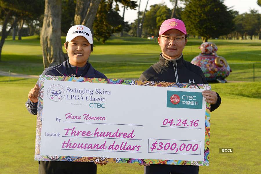 Haru Nomura wins Swinging Skirts title