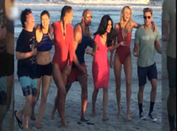 Watch: Priyanka Chopra's pictures from the sets of 'Baywatch'