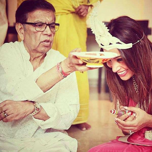Bipasha Basu and Karan Singh Grover's pre-wedding rituals