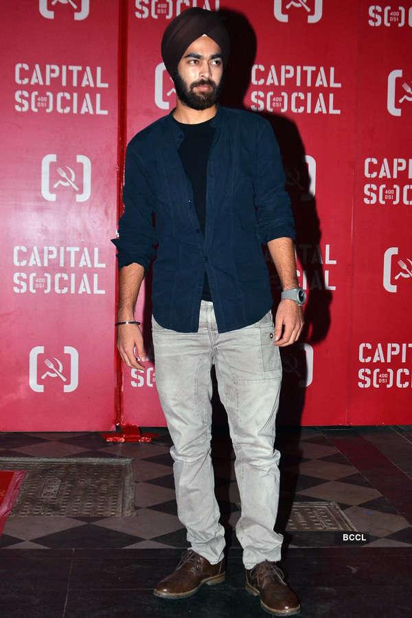 Celebs @ Capital Social launch