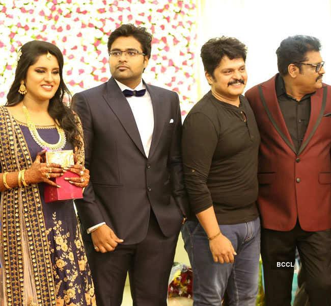Mallika & Arjun Krishnan's wedding reception
