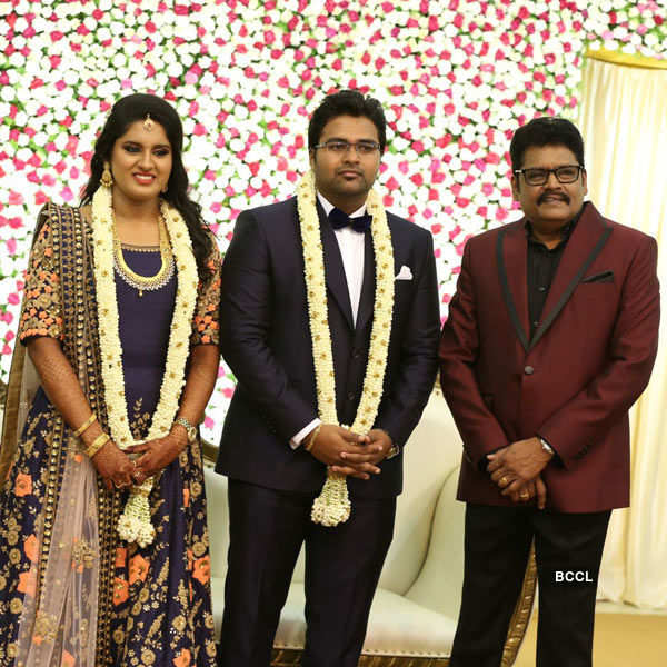 Mallika & Arjun Krishnan's wedding reception