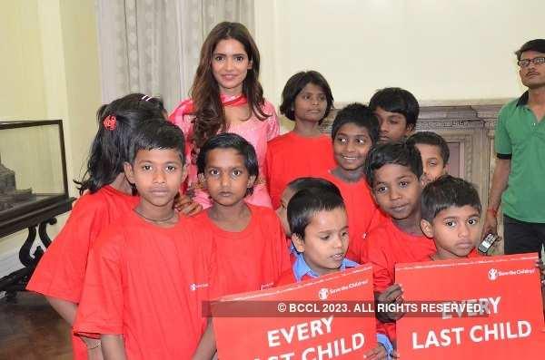 Vartika Singh at Save the Children Champion event