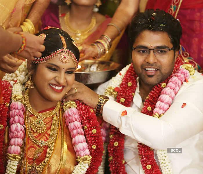 Mallika & Arjun Krishnan's wedding