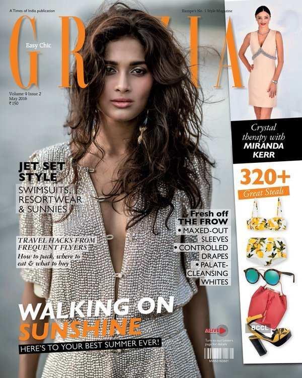 Sushrii Shreya Mishraa dazzles on the cover of Grazia India