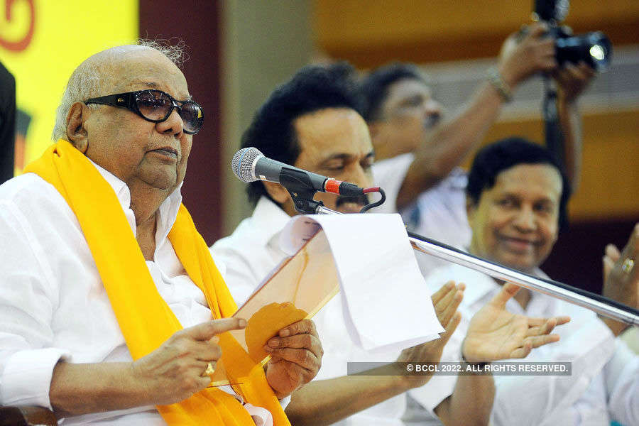Tamil Nadu polls: At 90, age is just a number for Karunanidhi