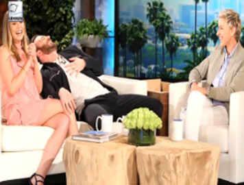 Elizabeth Olsen confirms dating Chris Evans on 'The Ellen Show'!