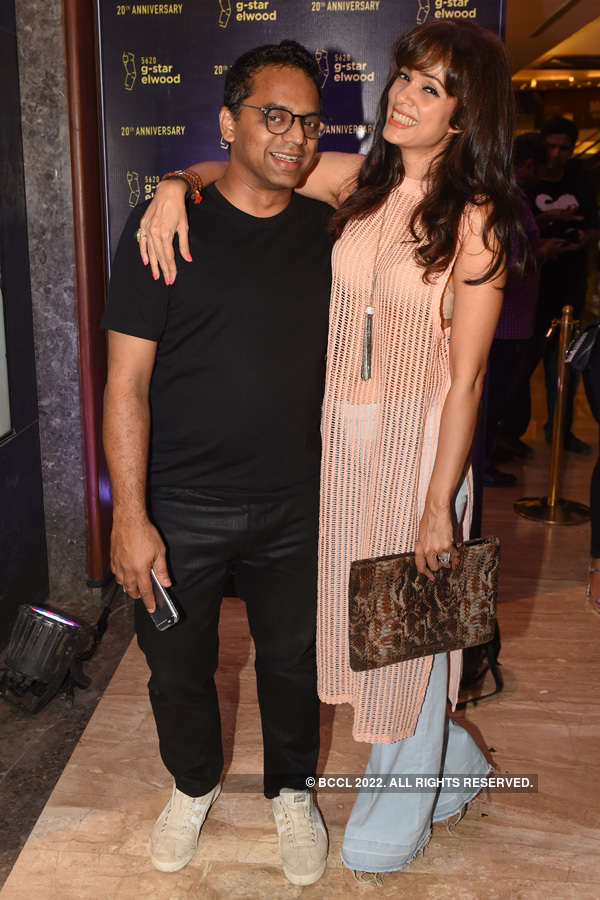 Celebs @ G-Star Raw store launch