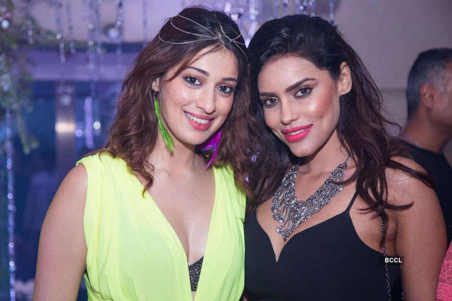 Raai Laxmi's B'day Party