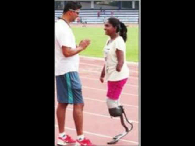 Yes, she can! Quadruple amputee to run Open 10K | Bengaluru News