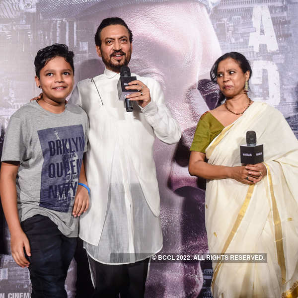 Madaari: Trailer launch