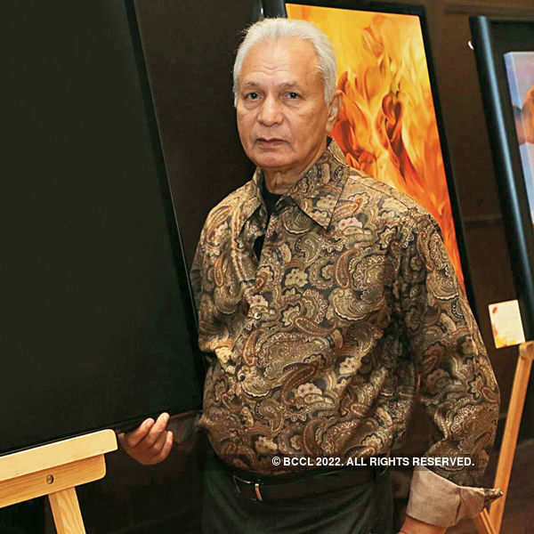 Surya Prakash's art exhibition