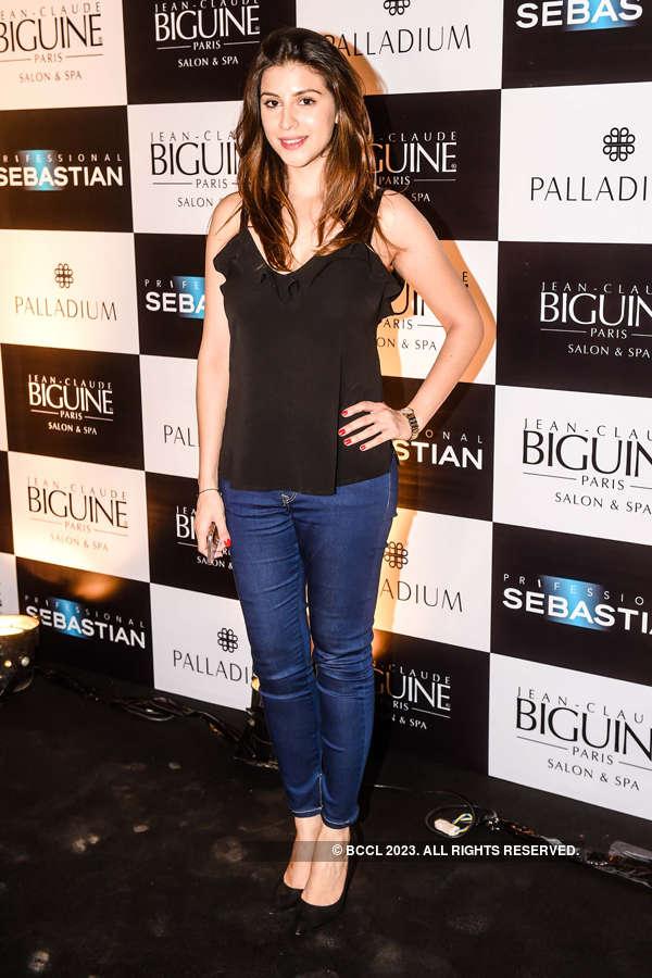 Celebs @ Jean-Claude Biguine fashion show