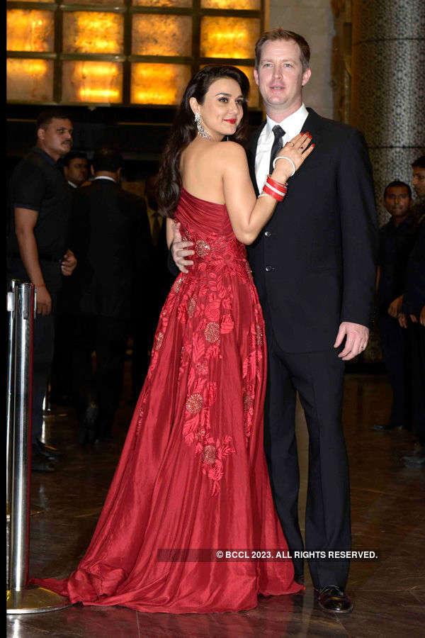 Preity Zinta's wedding reception