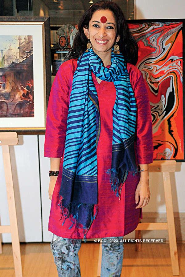 Sravanthi & Kishore's art exhibition