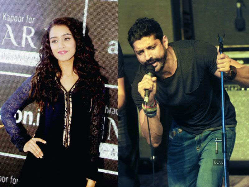 Shraddha Kapoor, Farhan Akhtar indulge in dirty dancing?