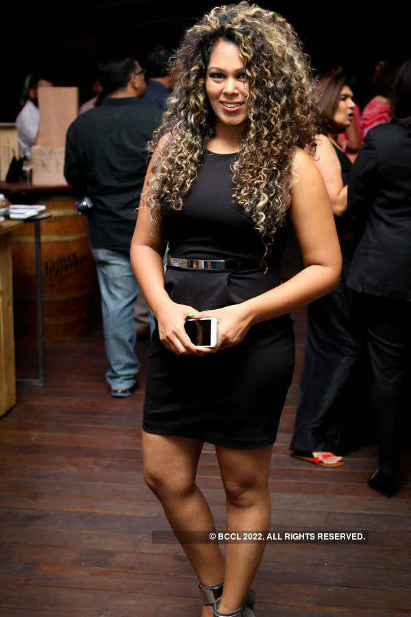 Socialites attend wine launch