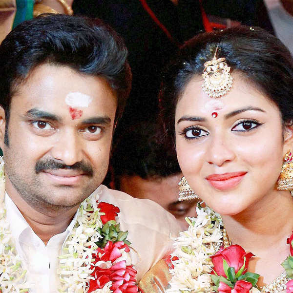Amala Paul's wedding album