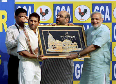 Modi felicitates Indian team