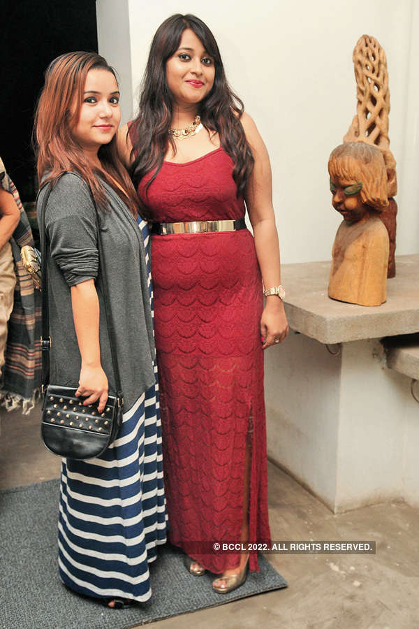 Socialites at book launch