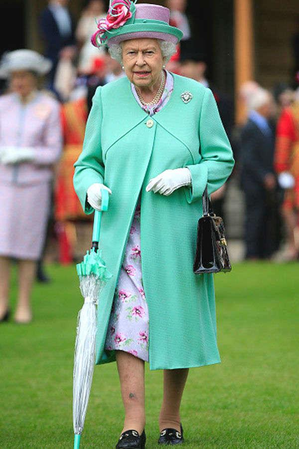 Queen Elizabeth II Hosts Garden Party