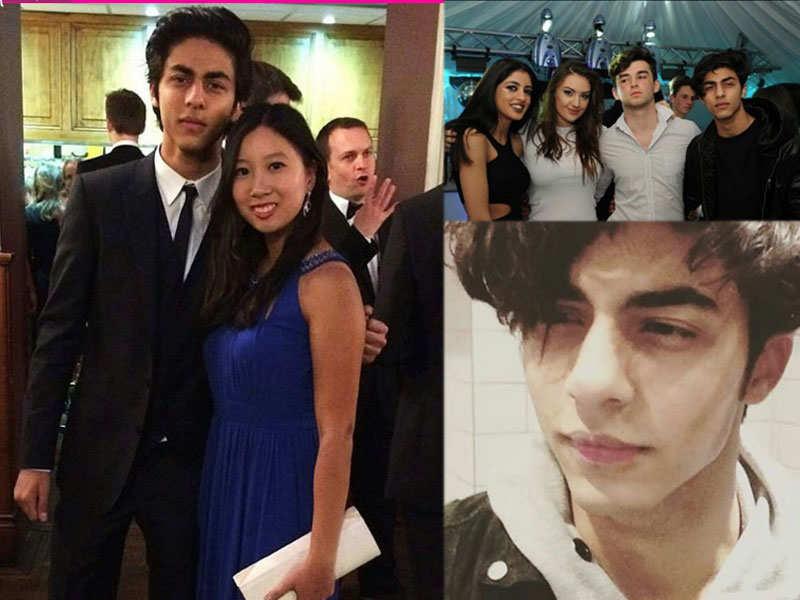 Shah Rukh Khan's son Aryan Khan's drooling avatar