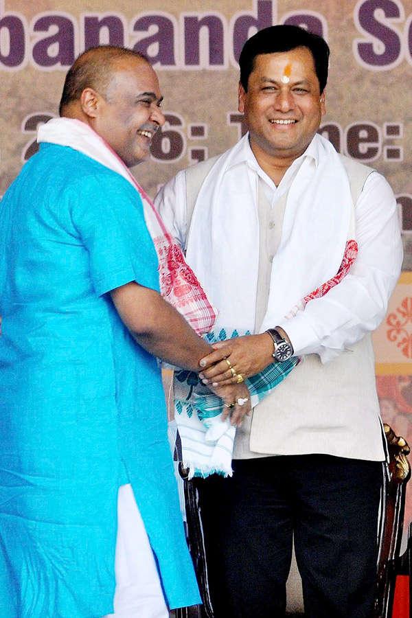 Sonowal sworn in as Assam CM