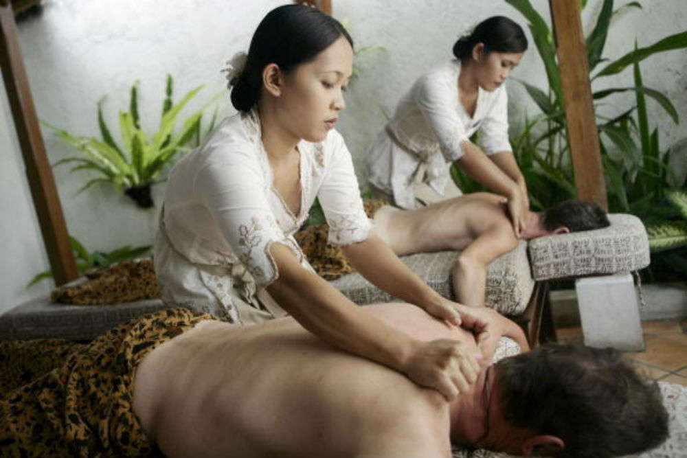Relax with a Balinese massage