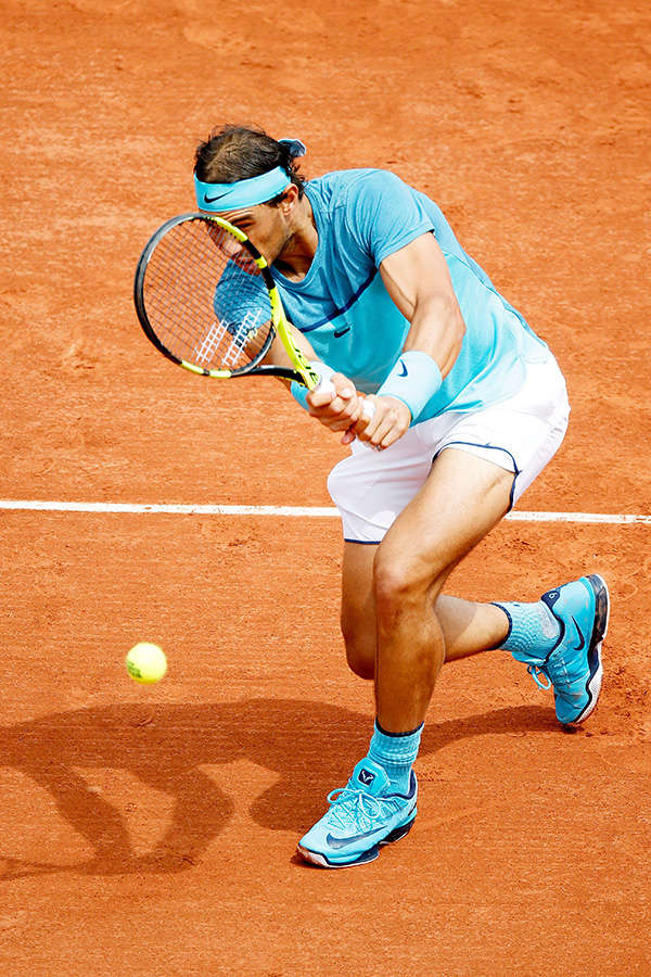 French Open: Nadal wins 200th Grand Slam match