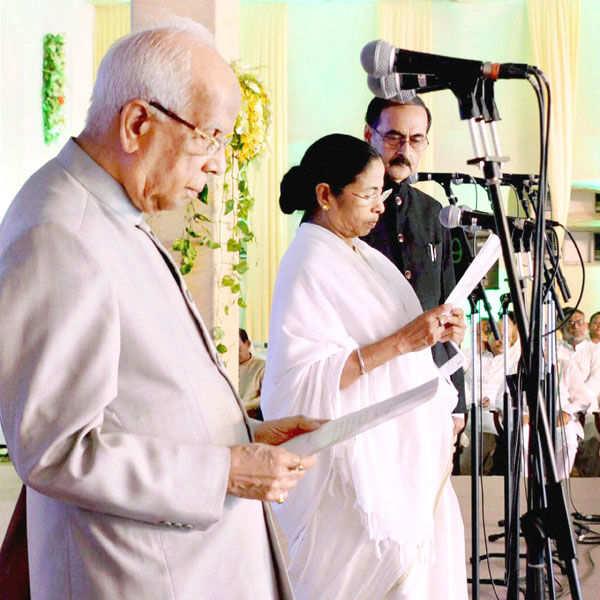 Mamata Banerjee sworn in as West Bengal CM